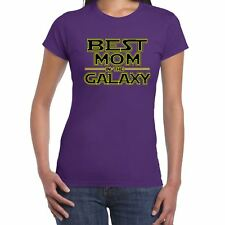 Womens Funny T Shirts-Best MOM in Galaxy Star Wars Inspired--Funny Gift