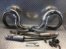 Yamaha Banshee TOOMEY TR6 TR--6 CHROME EXHAUST PIPES AND SILENCERS