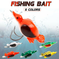 Fishing Lure Bass Pike Muskie Snakehead Fishing Lure Bait Soft Duck 5 Colors