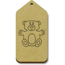 'Teddy Bear' Gift / Luggage Tags (Pack of 10) (vTG0013952)