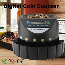 Coin Counter Money Sorter Automatic Cash Counting Sorting Machine 300 units/min