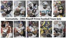 1995 Playoff Prime Football Set ** Pick Your Team **