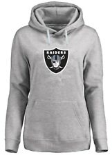 Oakland Raiders NFL Womens Majestic Critical Victory Hoodie Plus Sizes