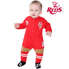 QLD Reds Infant Footysuit Sizes 000 - 2