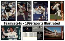 1999 Sports Illustrated Baseball Set ** Pick Your Team **