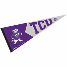 Texas Christian University Vault, Retro and Vintage Logo Pennant