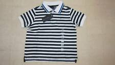 Tommy Hilfiger Striped Polo Shirt Boys Navy/Red/Light Blue Sz 4 - NWT $29.50