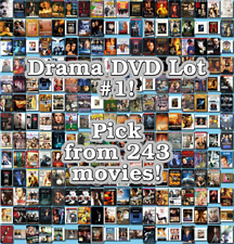Drama DVD Lot #1: 243 Movies to Pick From! Buy Multiple And Save!