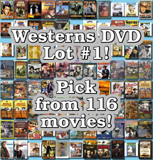Westerns DVD Lot #1: 116 Movies to Pick From! Buy Multiple And Save!