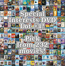 Special Interests DVD Lot #1: 232 Movies to Pick From! Buy Multiple And Save!