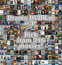 Drama DVD Lot #3: 246 Movies to Pick From! Buy Multiple And Save!