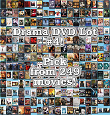 Drama DVD Lot #4: 249 Movies to Pick From! Buy Multiple And Save!