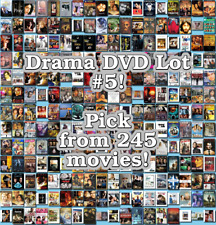Drama DVD Lot #5: 245 Movies to Pick From! Buy Multiple And Save!