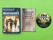 Mercenaries Playstation 2 PS2 PAL Game + Free UK Delivery