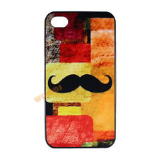 Handlebar Mustache Solider Hard Cute Case Cover Skin for Apple iPhone 4 4S 5 5S