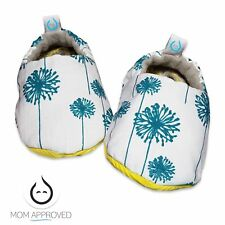 Kaydee Baby Soft Sole Crib Shoes - Flowers