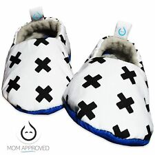 Kaydee Baby Soft Sole Crib Shoes - X's