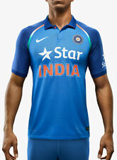 Nike Em Odi Ss Match Jsy 16 Blue Cricket Sports Jersey