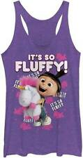 DESPICABLE ME MINIONS ITS SO FLUFFY JUNIORS TANK S TO 2XL