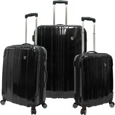 Traveler's Choice Sedona 3 Piece Expandable Spinner Luggage Set