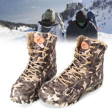 Mens Camo Military Army Tactical Combat Shoes Lace Up Outdoor Desert Ankle Boots