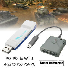 Brook PS3 PS4 to Wii U / PS2 to PS3 PS4 PC Game Controller Adapter Converter