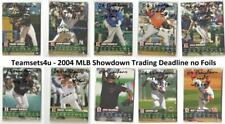 2004 MLB Showdown Trading Deadline (Base No Foils) Baseball Set * Pick Your Team