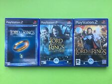 The Lord of the Rings PS2 PAL Games Selection List + Free UK Delivery