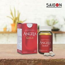 Angela Gold Ginseng | Balance of female hormones | Made in USA |60 capsules/box