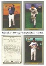 2006 Topps Turkey Red (Base) Baseball Set ** Pick Your Team **