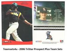 2006 TriStar Prospects Plus Baseball Set ** Pick Your Team **