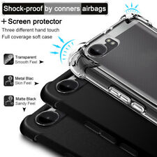 For Nokia 2 IMAK Shockproof Soft Silicone Back Cover Skin Case + Screen Film