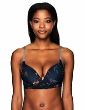 Roxy Women's Surf the Night Molded Halter D Cup Bikini Top - Choose SZ/Color