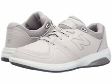 NEW Womens NEW BALANCE Off White Light Grey WW813 Athletic Lace Up Walking Shoes