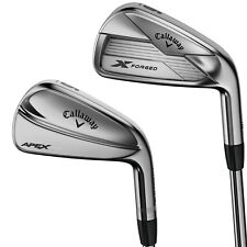 New 2018 Callaway Apex MB / X Forged Combo Iron Sets - RH (4-PW) Steel Shafts