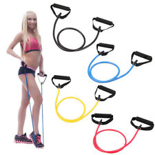 Exercise Latex Resistance Band Fitness Stretch Training Yoga Tube Home Workout Q
