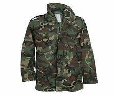 M-65 FIELD JACKET USGI - USED / VERY GOOD - EXCELLENT  -  w/ NEW LINER