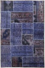 Rugs For Kids Room Hand-Knotted Rug 4' X 6' Patchwork Soft Variations