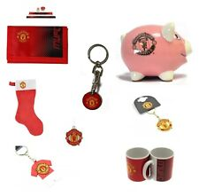 MANCHESTER UNITED FC OFFICIAL CLUB MERCHANDISE - GIFTS SOUVENIRS BIRTHDAY XMAS