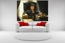 Scarface Al Pacino Canvas Sitting In Chair Giclee Print Unframed Home Decor Art