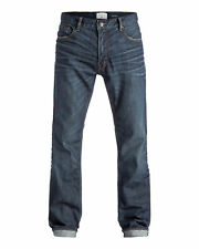 NEW QUIKSILVER™  Mens The Avalon Relaxed Fit Denim Jean Denim Jeans Trousers