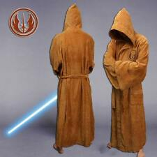 Star Wars Jedi Robe Cosplay Costume Adult Soft Robe Dressing Gown Bathrobe