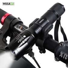 Bike Bicycle Torch 1000LM Flashlight Waterproof Zoom Lamp+360° Mount Front Light