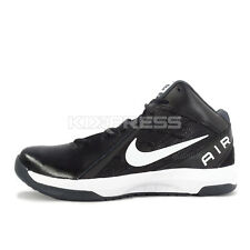 Nike The Air Overplay IX [831572-001] Basketball Black/White-Anthracite-Grey