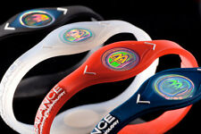 POWER BALANCE NEGATIVE ION ENERGY HEALTH BRACELET BAND -  BUY 2 GET 3RD ONE FREE