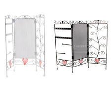Foldable Jewelry Earring Holder Necklace Stand Display Organizer Rack