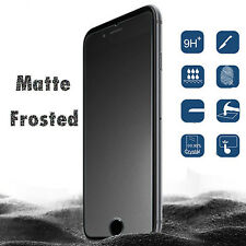 2 x Matte Frosted Tempered Glass Screen Protector Front Guard For iPhone 7/6/5