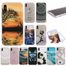 Fashion SOFT RUGGED TPU 1.2mm Shockproof Silicone GEL Back Case Cover For iPhone