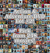 Action & Adventure DVD Lot #2: Pick Items to Bundle and Save!