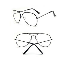 Vintage Hippie Style Clear Lens Small Round Glasses Gold Metal Frame Eyeglasses